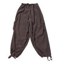 CORDUROY LOOSE WORK PANTS MENS【gray】