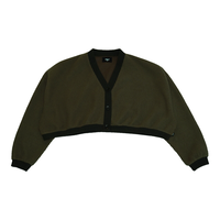 KNIT CARDIGAN【moss green】