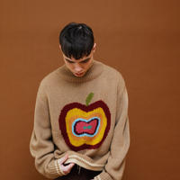 APPLE KNIT【BEIGE】