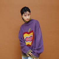 APPLE KNIT【PURPLE】