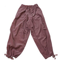 CORDUROY LOOSE WORK PANTS MENS【ash rose】