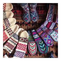zoom予約「イランの手編み靴下」 オッコヨッコがおじゃまします!展 zoom予約