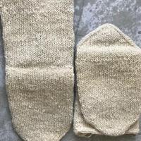 wool long   白羊原毛ー1