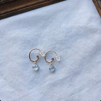 ②eclectic ピアス(サファイア)