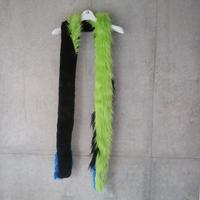 Muffler black green