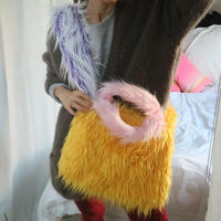 Eco fur cross body Bag Y