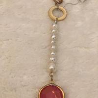 Pearl Agate Earring CP