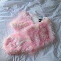 Candy pink shawl