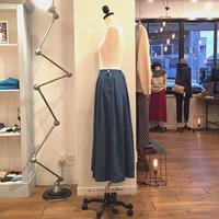 caqu  Tuck pleats skirt (35018)