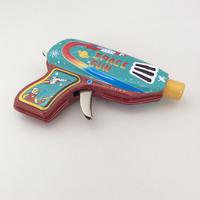 ブリキのおもちゃ『スペースガン』グリーン&レッド