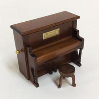 ミニアンティークオルゴール/アップライトピアノ