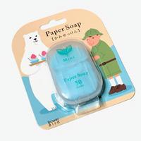 紙せっけん(ミントの香り)