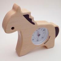 MOCO-MO 温湿度計 うま