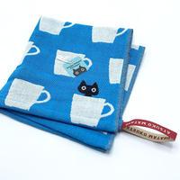 マタノアツコ/カップMEME ウォッシュタオル(ブルー)