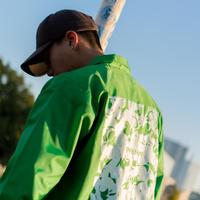 "HACKALL COACH Jacket ""NEON GREEN"""