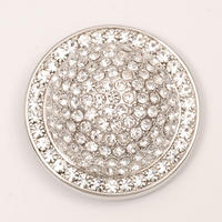 Jeweled Dome With Crystals