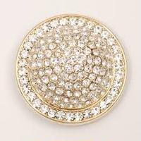 Jeweled Dome With Crystals(2 colors)