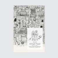 美藝畫報社の本|Zine セット: 香港の市場、香港街頭小食