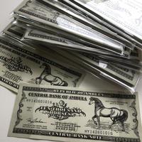 アンビュラ中央銀行券型メモ用紙