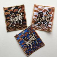 韓国のかわいい虎のワッペン
