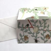 中沢美帆 / グリーティングカード「ベランダの時間」