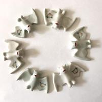 esou ceramics / 蝙蝠はしおき