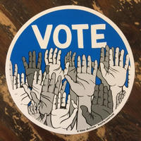 Nikki McClure /  VOTEステッカー