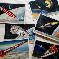 1960年 LIEBIG◆人工衛星6種アンティーク・ビンテージカード