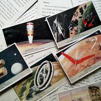 1956年 LIEBIG◆ユートピアと科学6種アンティーク・ビンテージカード