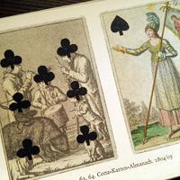 1964年ドイツ インゼル文庫Nr.755<ドイツの古いトランプの本>◆Die schönsten deutschen Spielkarten