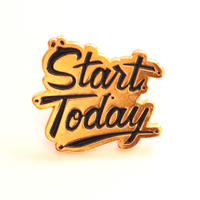 Start Today=今日から始めよう バッジ/ブローチ