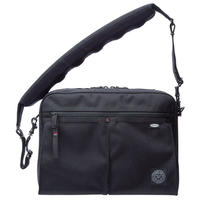 NEWTON SHOULDER BAG -BLACK-