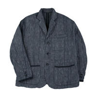 NEW SASHIKO TAILORED JACKET -GRAY-