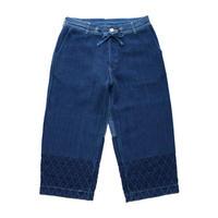 PC KENDO WIDE PANTS -BLUE-
