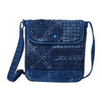 KOGIN FLAP OVER SHOULDER BAG -BLUE-
