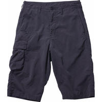 WEATHER CARGO SHORTS -BLACK-