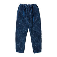 KOGIN ART CROPPED PANTS -BLUE-