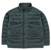 "SUPER NYLON ""MASH""PADDING JACKET -OLIVE-"