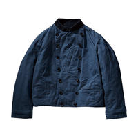 PARAFFIN CORDUROY  DOUBLE RIDERS JACKET -VINTAGE BLUE-