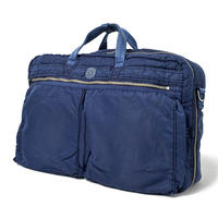 SUPER NYLON 3WAY BRIEFCASE  L -INDIGO BLUE-