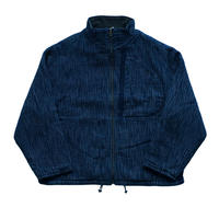 KASURI ZIP UP OUTDOOR JACKET -INDIGO-