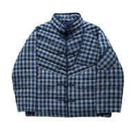 PALAKA CHINESE DOWN JACKET -INDIGO-