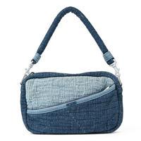 PC SASHIKO SHOULDER BAG -NEW BLUE-