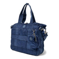 SUPER NYLON TOTE BAG -INDIGO BLUE-