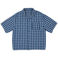 PALAKA SHORT SLEEVE SHIRT -INDIGO-