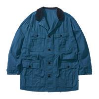 PARAFFIN CORDUROY BINGHAM JACKET -VINTAGE BLUE-