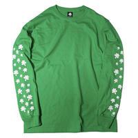 Leaf dance Ls-tee (Green)