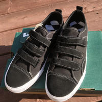 STATE SHOES -HARLEM x WKND- BLACK/SILVER.STRAPPED 8.5/26.5cm
