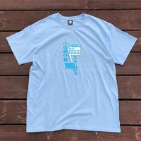 EXIT BABYLON    Ss-Tee  (Sky blue)