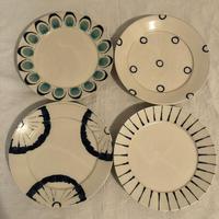 宮城陶器 6寸リム皿